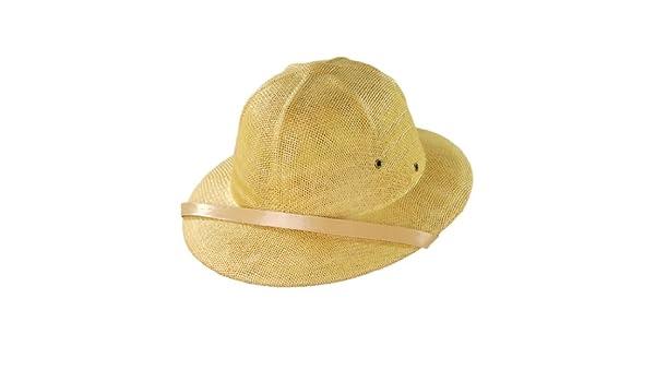 Village Hat Shop Toyo Straw Pith Helmet (Tan) at Amazon Men s Clothing  store  2523c50a5