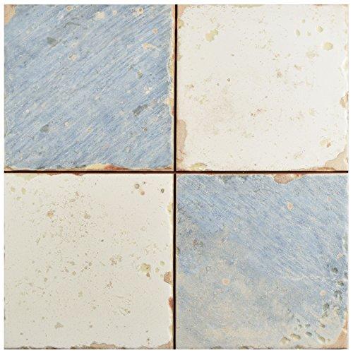 SomerTile FPEARTDA Artisa Ceramic Floor and Wall Tile, 13