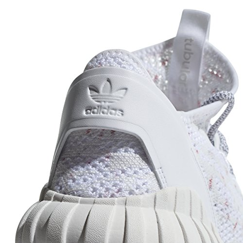 Uomo Grey Red Sneaker Alto adidas Collo Primeknit Tubular White a Sock Doom wxfTvRf8q