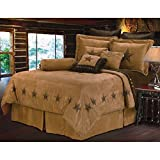 #10: Home Max Imports HiEnd Accents Luxury Star Bedding