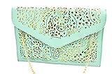 Best Pu Leather Shoulder Bags Satchel Clutch Womens Handbag Tote Purse Messengers - Nodykka Evening Envelope Pu Leather Shoulder Bag Messenger Review