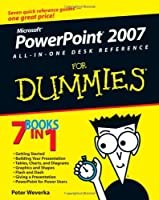PowerPoint 2007 All-in-One Desk Reference For Dummies Front Cover