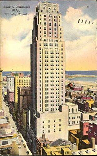 Bank Of Commerce Bldg Toronto  Ontario Canada Original Vintage Postcard