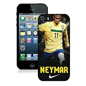 Personalized Neymar 86 iPhone 5 5s 5th Generation Phone Case in Black