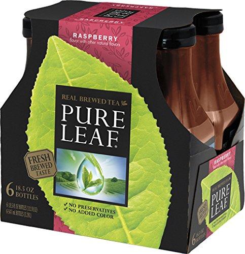 Energy Drink Raspberry Iced Tea (Pure Leaf Iced Tea, Raspberry Black Tea, 18.5 oz (Pack of 6))