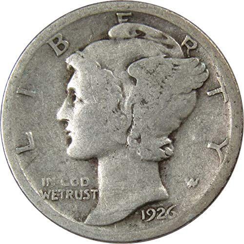 1926 Mercury Silver Dime Genuine ()