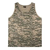 Rothco Tank Top, Acu Digital Camo, X-Large