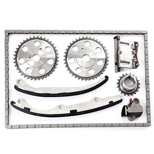 ECCPP Timing Chain Kit for Saturn SC2 SL2 SW2 SC 1.9L 116CID L4 DOHC 16v VIN (Saturn Sc2 Water)