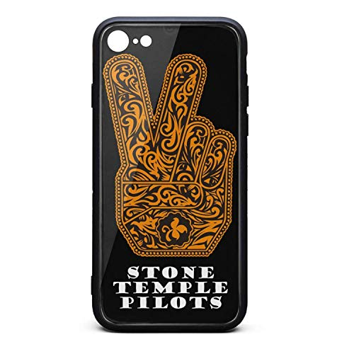 (Stone-Temple-Pilots-Cover- Phone Case for iPhone 7/8 Full Protective TPU Rubber Shockproof Anti-Scratch Fashionable Glossy Anti Slip Thin Case)