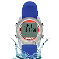 WobL+ Waterproof Vibrating Watch (Blue)