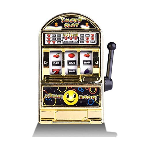 Benlet Children Mini Slot Machine Toy Creative Handheld Mini Fruit Machine Game Device Money Banks