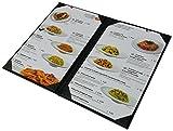 "5 Pcs of Restaurant Menu Covers Holders 8.5"" X"