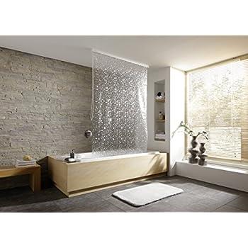 Amazoncom Meusch Shower Roller Blind X In X Cm - Waterproof roller blind for bathroom