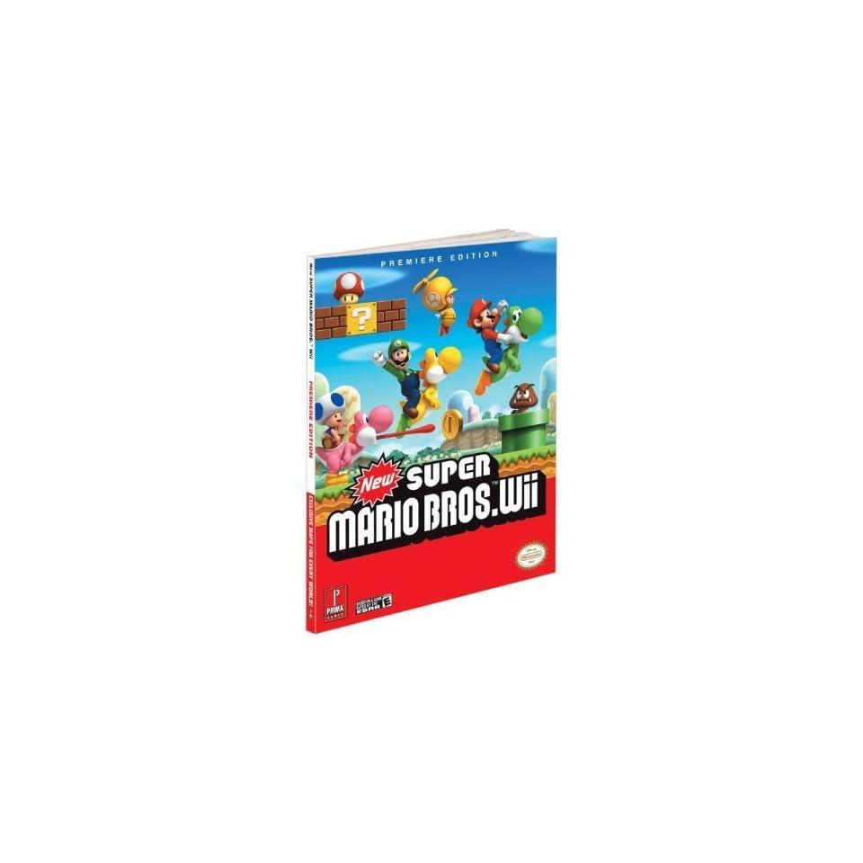 New Super Mario Bros (Wii) Prima Official Game Guide (Prima Official