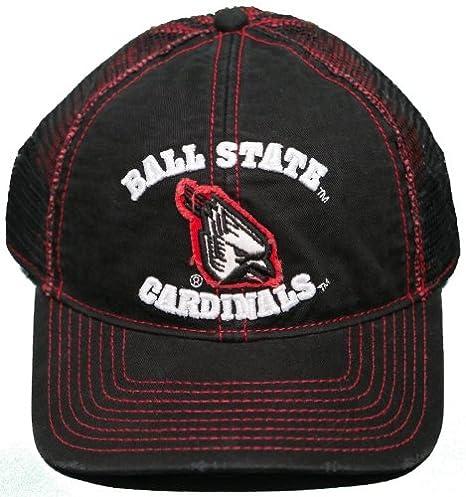 ea176c20 Amazon.com : NEW! Ball State Cardinals Adjustable Snap Back Hat ...