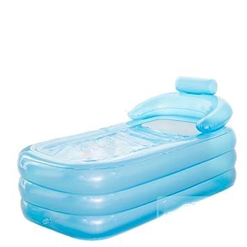 LQQGXL,Baño Viaje portátil Plegable bañera de bebé recién Nacido ...