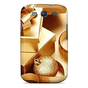 MeSusges Snap On Hard Case Cover Christmas Gifts And Decorations Protector For Galaxy S3