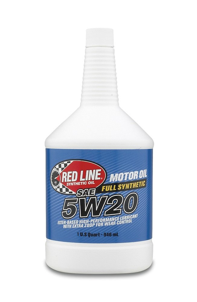 Red Line 15204-12PK 5W-20 Synthetic Oil - 1 Quart Bottle, (Pack of 12) by Red Line Oil
