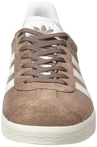 adidas Gazelle, Zapatillas Unisex Niños Marrón (Trace Brown/off White/footwear White)