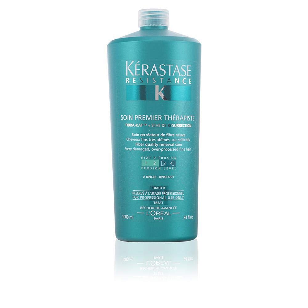 Kerastase Resistance Soin Premier Therapiste Conditioner, 34 Ounce