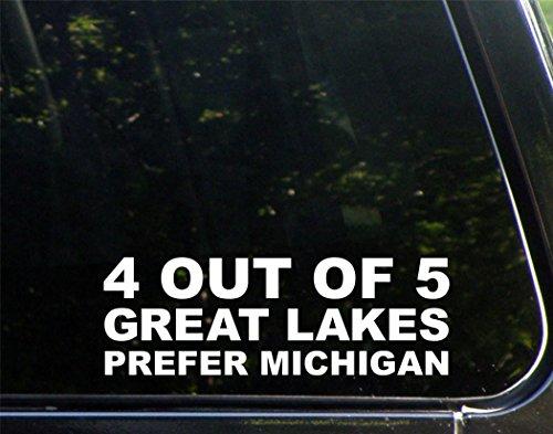 Diamond Graphics 4 Out of 5 Lakes Prefer Michigan (8-3/4