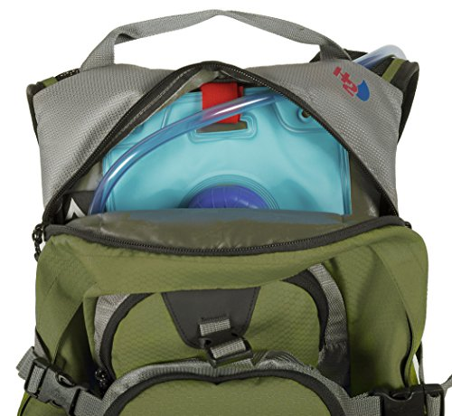 TETON Sports Oasis 1100 Hydration Pack | Free 2-Liter Hydration Bladder | Backpack design great for Hiking, Running, Cycling, and Climbing 7 SATISFY YOUR THIRST FOR ADVENTURE: Lightweight and comfortable; This hydration pack is a terrific companion for all your day-long or overnight hydration needs; Size 1100 Cubic Inches (18 L) FREE HYDRATION BLADDER: BPA free, 2-liter hydration bladder; Durable, kink-free sip tube and innovative push-lock cushioned bite valve; Large 2-inch (5cm) opening for ice and easy cleaning CUSTOMIZABLE COMFORT: Backpack for men, women, and youth; Adjusts to fit all frames comfortably; Notched foam stabilizer and mesh covering means you can wear this pack for hours