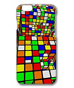 Rubiks Cube Unique Customized Case for iPhone 6 3D PC