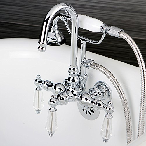 Crystal Wall Mount Faucet - 6