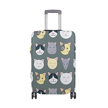 Funda para Equipaje de Viaje con Ruedas para Gato, Color Gris: Amazon.es: Equipaje