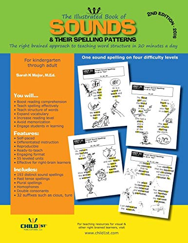 The Illustrated Book of Sounds & Their Spelling Patterns (Short Vowel Sound Worksheets For First Grade)