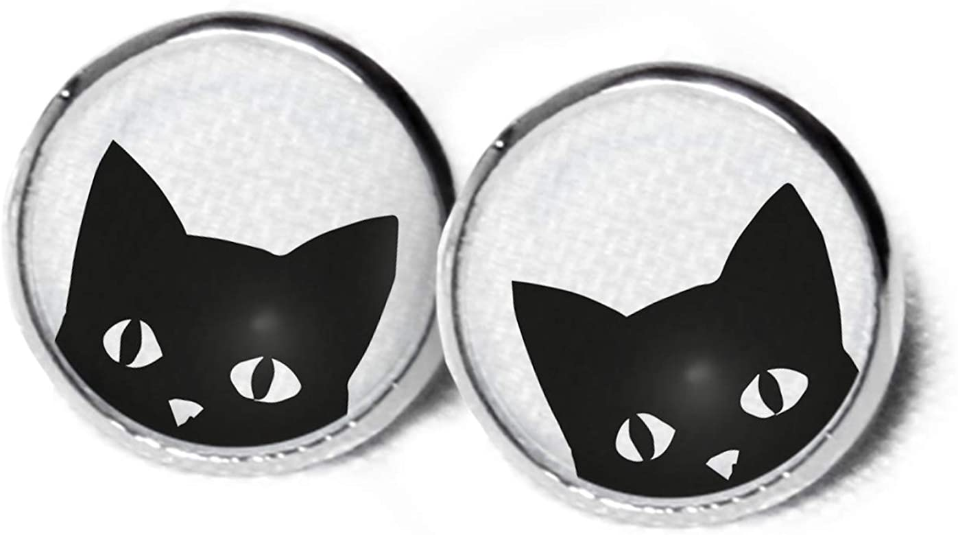 Pendientes Gato - Gatos pendientes - dulce pendientes - pendientes ...