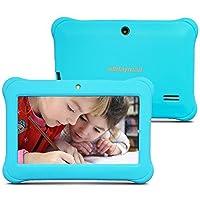 Alldaymall Nuevo Tablet para niños de 7 pulgadas 8GB Quad Core, Android 5.1, 1GB RAM, Wi-Fi, Bluetooth (3rd Generación) (azul)