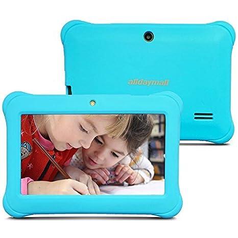 Alldaymall Nuevo Tablet para Niños de 7 Pulgadas 8GB Quad Core, Android 5.1, 1GB RAM, Wi-Fi, Bluetooth (3rd Generación) (Azul): Amazon.es: Informática