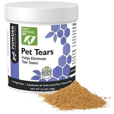 Amazon.com: Sólo Naturales Pet Pet lágrimas: Mascotas