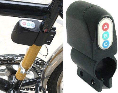 La alarma antirrobo de la bicicleta sirena electró nica en bicicleta con 100 db BICICLETA sirena Vinciann