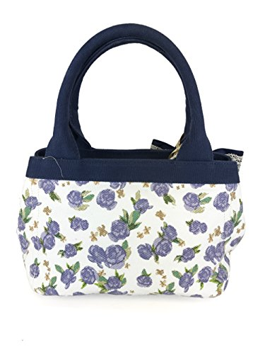 Canvas Bag Flowers Design Fixdesign Atelier Lavender Shopping Fix Fc7000 Cv1tq4RCw