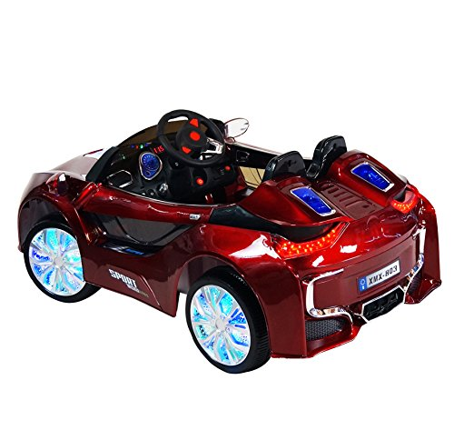 Electric Toy Cars For Girls : Bmw i style premium ride on electric toy car for kids