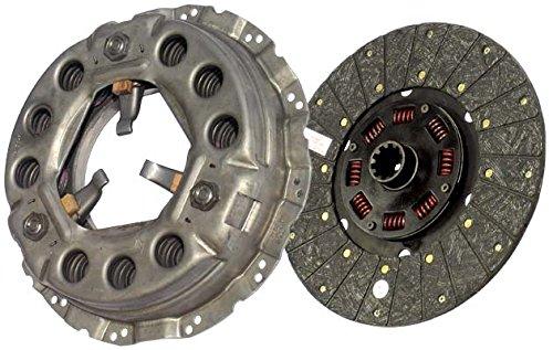IATCO LP1933-134-IAT 330mm x 1-1/2'' Stamped Steel Clutch (Single-Plate, Push-Type, Organic / 8-Spring, 2700 Plate Load / 450 Torque) by IATCO