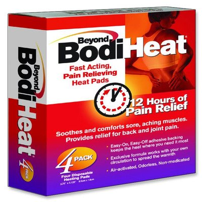 OKO74984PK - Beyond BodiHeat Pain Relieving Heat Pad, Back by Okamoto Usa