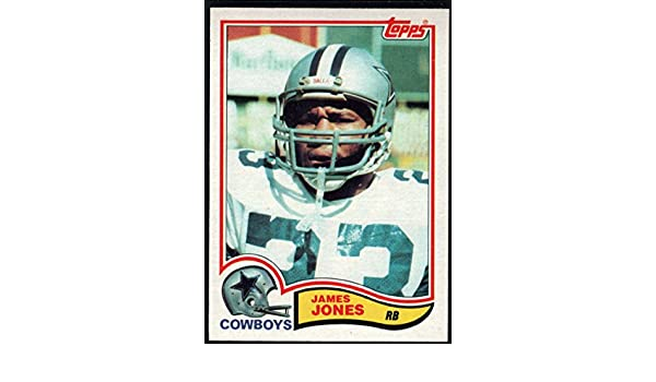 c7c5eb42b Amazon.com  Football NFL 1982 Topps  319 James Jones Cowboys  Collectibles    Fine Art