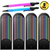 #8: WXJ13 48 Pack 2.0mm Colored Mechanical Pencil Lead Refills with 2 Pieces 2.0 mm Mechanical Pencils, 4 Boxes
