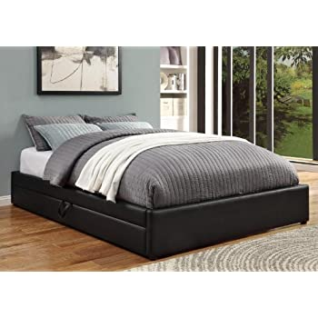 coaster queen bed w