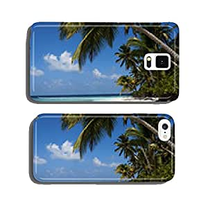 tropical island palm sea and sky cell phone cover case Samsung S5