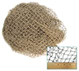 Fishing Net. 10-foot x 5-Foot Net Made of 3/4″ Squares Individually Knotted from Twisted Cotton/Nylo, Appliances for Home