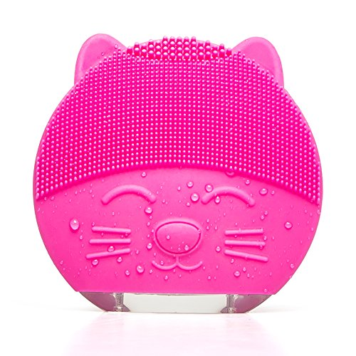 ONECAM Facial Cleansing Brush,Electric Sonic Face Cleansing Brush Rechargable Waterproof,Gentle Exfoliation and Sonic Cleansing for All Skin Types