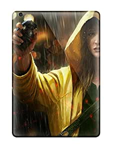 Protection Case For Ipad Air / Case Cover For Ipad(girl In Rain)