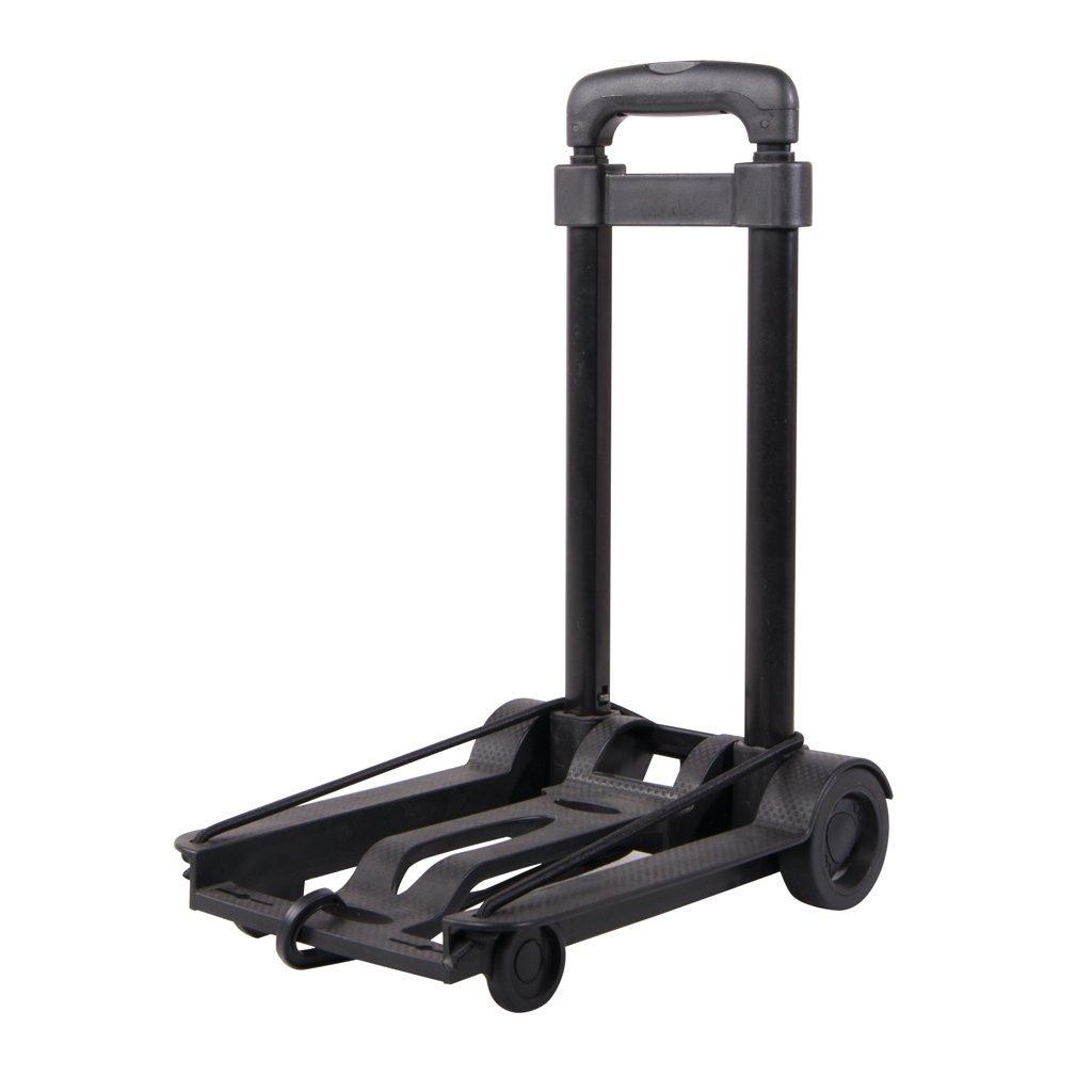Austin House Foldable Compact Cart, Black, Under Seat