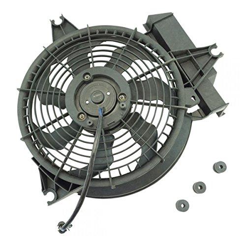 A/C AC Condenser Cooling Radiator Fan for 01-02 Hyundai Santa Fe