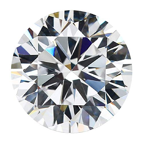 Excellent Corporation 0.50ct Cvd Lab Grown HPHT Diamonds 4.87mm E VVS1 Round Brilliant Cut ()