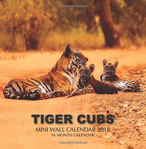 Download Tiger Cubs Mini Wall Calendar 2018: 16 Month Calendar PDF